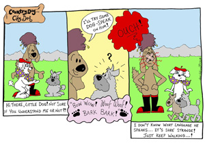 Country Dog City Dog Strip 52 col