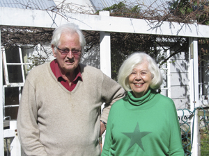 Geoff Sleeman and Diana Braodhead